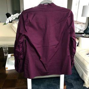 660dd4eba70 Jane and Delancey Tops - Burgundy Ruffled Sleeve Top 
